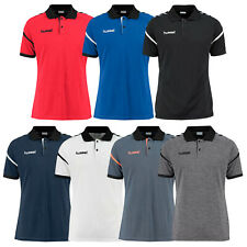 hummel Authentic Charge Funktions Polo Herren Handball Fußball Poloshirt 002435