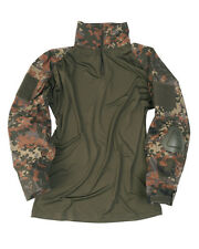 "Tactical CAMICIA """"Warrior "" FLECKTARN, TARN Camicia, SWAT, Paintball -NUOVO"