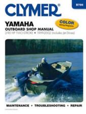 Clymer Workshop Manual Yamaha 2-90 HP Two-Stroke Outboard Jet Drive 1999-2002