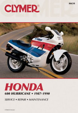 Clymer Workshop Manual Honda CBR 600 Hurricane CBR600F 1987-1990 Service Repair