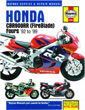 Haynes Workshop Manual Honda CBR 900 RR FireBlade 1992-1999 Service Repair