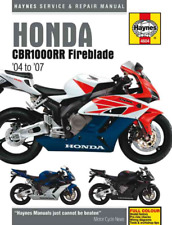 Haynes Workshop Manual Honda Fireblade CBR1000RR 2004-2007 Repair Service