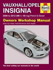 Haynes Workshop Manual Vauxhall/Opel Insignia 2008- 2012 Petrol Diesel Repair