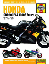 Haynes Workshop Manual Honda CBR 600F 1000F Fours 1987-1996 New Service Repair