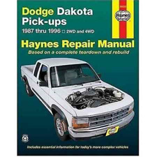 Dodge Dakota Pick-ups 1987-1996 Haynes Workshop Manual Service Manual Repair