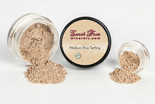 RICE SETTING POWDER (MEDIUM) Mineral Makeup Matte Bare Skin Foundation Concealer