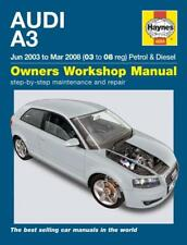 Haynes Workshop Manual Audi A3 2003-2008 Petrol Diesel New Service Repair