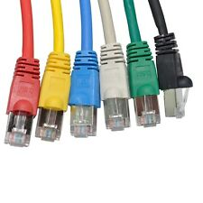 RJ45 Cat6 Ftp Protegido Cable de Red Ethernet Cable 100% Puro Cobre Lote