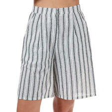 Womens Glamorous Striped Shorts In Cream From Get The Label