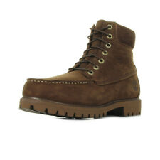 Chaussures Boots Timberland homme 6In Premium WP MT Boot taille Marron Cuir