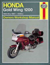 Honda Gold Wing 1200 1984-1987 Haynes Workshop Manual Service Repair Manual