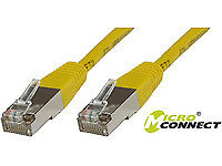 NEW! MicroConnect B-FTP510Y F/UTP CAT5e 10m Yellow PVC