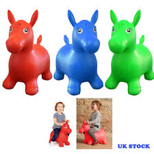 ANIMAL INFANTIL SALTAMONTES Inflable Caballo Montable Hinchable Juguete Happy