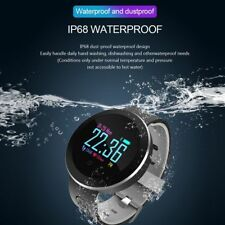 Fitness Smart Watch Heart Rate Blood Pressure/Oxygen Bracelet For IOS/Android