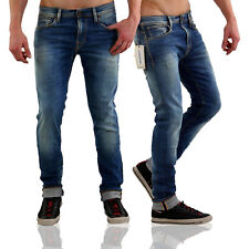 SELECTED HOMME JEANS PANTALONI UOMO NUOVO One Roy Blue 1350 2° SCELTA