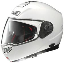 CASCO NOLAN MODULARE N104 ABSOLUTE CLASSIC N-COM BIANCO LUCIDO MOTO SCOOTER