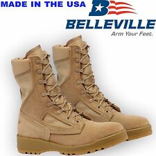 ORIGINALE US Army BELLEVILLE 340 DESERT HOT CLIMA Flight/Anfibi nuove in scatola