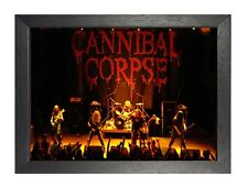 Cannibal Corpse 8 foto ROCK BAND DEATH METAL FILM VINTAGE MUSICA POSTER