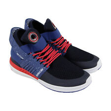 Supra Skytop V Mens Black Mesh & Synthetic Athletic Lace Up Training Shoes