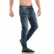 JACK & JONES JEANS Pantaloni Uomo Erik ORIGINALE Feeling Blue BL100
