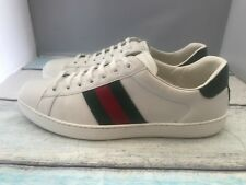 GUCCI New Ace Web  Trainer Mens Size 10 UK