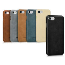 FUNDA DE PIEL PARA APPLE IPHONE 7 8 FUNDA TRASERA FUNDA PROTECTORA CARCASA