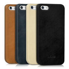 FUNDA DE PIEL PARA APPLE IPHONE SE 5 5S FUNDA TRASERA FUNDA PROTECTORA CARCASA