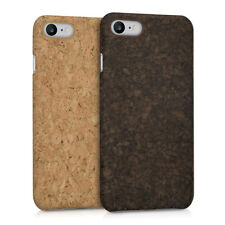 CARCASA RÍGIDA DE CORCHO PARA APPLE IPHONE 7 8 FUNDA PROTECTORA MADERA NATURAL