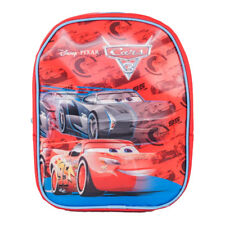 Boys Disney Pixar Cars Lightning McQueen 3D Backpack School Bag Small Rucksack