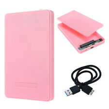 5 COLORS 6.3cm USB 2 SSD DRIVE CUSTODIA SATA HD BOX HDD Disco rigido esterno