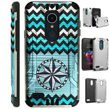 SILVER GUARD For LG Aristo / Stylo Phone Case Cover STAR CHEVRON