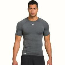 Under Armour 1236224 Heat Gear Sonic Comp Grey T-Shirt - size S