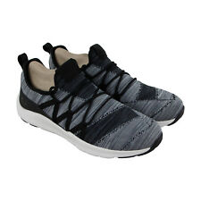 Skechers Nichlas Tricity Mens Gray Textile Athletic Lace Up Training Shoes