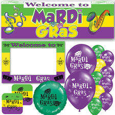 Mardi Gras New Orleans Carnival Parade Celebration Decorations Party Supplies