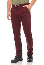 "Sweet SKTBS Chino Hose Herren Jeans Chino-Hose Weinrot Rot ""The Chinos"" SALE"