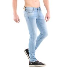 Jack & Jones Uomo Slim Jeans da Jogging Pantaloni Glenn Icon Blue Cr 045