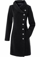 Cappotto da Donna con Palace Colletto, 243267 in Nero