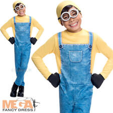Minion Bob Boys Fancy Dress Despicable Me Movie Film Kids Childs Costume Outfit