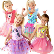 My Little Pony Girls Fancy Dress Cartoon Book Week Day Childs Character Costume