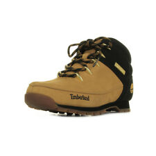 Chaussures Boots Timberland homme Euro Sprint taille Camel Cuir Lacets
