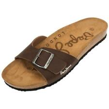 Claquettes mules Pepe jeans Bio man new brown Marron 21185 - Neuf