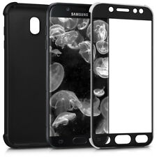 COVER POTETTIVA PER SAMSUNG GALAXY J7 (2017) DUOS CUSTODIA TPU BACK CASE NERO