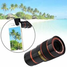 High Quality Clip-on 8x Zoom Optical Telescope Camera Lens for Samsung Models