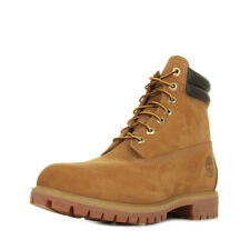 Chaussures Boots Timberland homme 6 In Boot Wheat taille Beige Nubuck Lacets