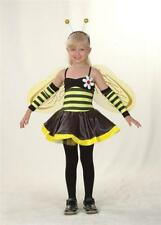 Girls Bumble Bee fancy dress Costume With Detachable Wings