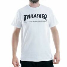 Thrasher Magazine White Skate Mag Logo T-Shirt New BNWT Sk8 Tee Free Delivery