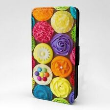 Cupcakes Diseño Estampado Funda Libro para Apple Iphone - P1232