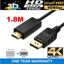 Displayport Display Port DP Male to VGA HDMI Female Converter Adapter Cable
