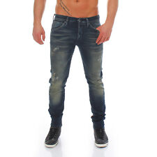 Jack & Jones Uomo Slim Jeans da Jogging Pantaloni Glenn Fox Blue BL469