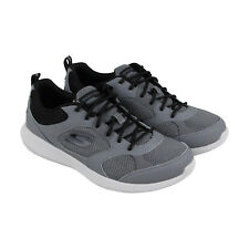 Skechers Kulow Highholt Mens Gray Mesh Athletic Lace Up Training Shoes